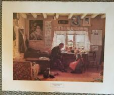 Grandfathers Pet - Willam H Snape -English 1891 - Paperboard 1994  Lithograph