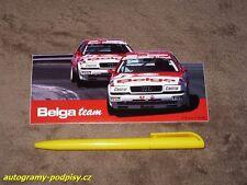 (1993) AUDI V8 Quattro Evo, BELGA Team (Verellen/Bachelart) - Sticker/Aufkleber