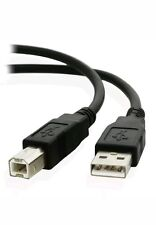 Extra Long / 5m USB 2.0 High Speed Cable Printer Lead A to B Long Black Shielded