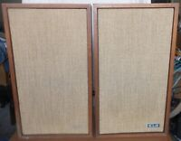Vintage Pair KLH Model Twenty-Four. 24 Loudspeaker System Audio Speakers