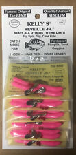 Kelly's Reveille Jr® Pre-Rigged Plastic Scented Worm (panfish) Bubble Gum
