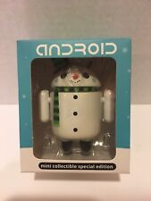 "Android ""FLAKES"" Snowman Figurine Mini Collectible Special Edition Christmas"