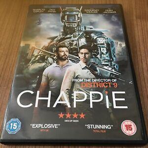 Chappie DVD (2015) Hugh Jackman, Blomkamp (DIR) Cert 15 Region 2 UK