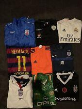 Football Shirt Bundle Job Lot X9 All Adult Sizes