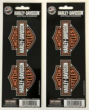 Harley-Davidson Bar & Shield 2 sheets of Stickers Decals NEW