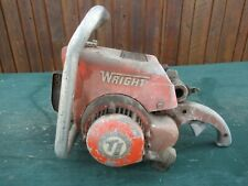 Vintage WRIGHT Model B520 Chainsaw Chain Saw