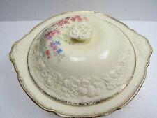 Vintage Crown Ducal Florentine Service Dish Vegetable Bowl 18K Picardy Border