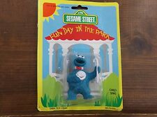 Sesame Street Fun Day In the Park Action Figure Cookie Monster w/ Hat~ NEW  Tara
