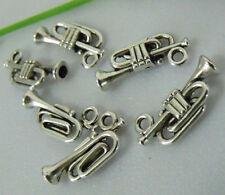 20pcs zinc alloy trumpet charms 1A799