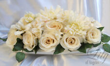 Large Altar Centerpiece Wedding Table Decoration IVORY