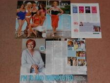 5- CORNELIA FRANCIS Magazine Clippings
