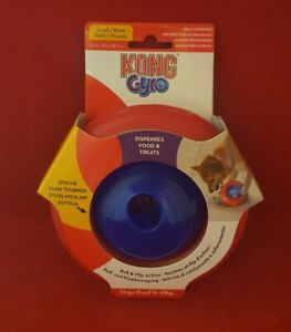 KONG GYRO - Treat Dispensing Dog Toy- For Small Dogs