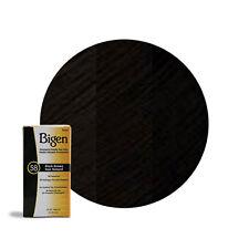 Bigen Permanent Powder Hair Color 6g Black Brown #58