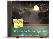 Storytelling 101: Where Do You Get Your Inspiration? by Geoff Botkin (2013, CD)