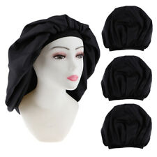3 Silk Sleep Hat Wrap Night Cap Hair Care Bonnet Lady Hat for Beautiful Hair
