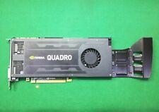 Scheda Video GPU PROFESSIONALE NVIDIA QUADRO K4000 3GB GDDR5 PCIe 2.0  3D