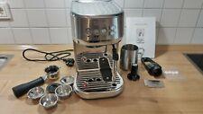 SAGE the Bambino Plus SES500BSS, Edelstahl, Espresso- / Siebträgermaschine