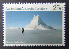 1984 AAT Dec Stamps-Antarctic Scenes, Series1 Definitives - Single 25c - A60 MNH