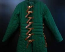 Medieval Green Color Jacket Renaissance Gambeson For Armor Reproductions