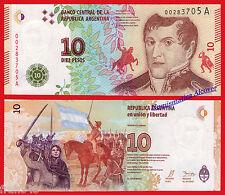ARGENTINA 10 Pesos 2016 Pick NEW DESIGN - UNC