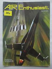 AIR ENTHUSIAST 8/72 COBRA AIRBUS A300B ARGENTINA HEINKEL MORANE MS 230 HURRICANE