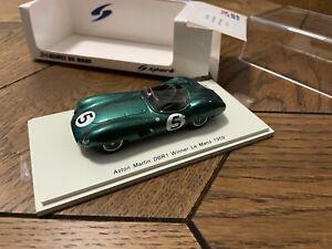 Spark 43LM59 Aston Martin DBR1 Winner Le Mans 1959 Nr5 Green 1/43 Scale Model