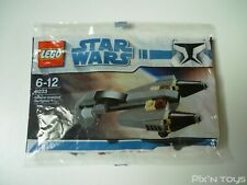 Polybag Lego Star Wars 8033 General Grievous' Starfighter [ NEUF ]