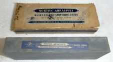 Vintage Norton Abrasive Queer Creek Sharpening Oil Stone