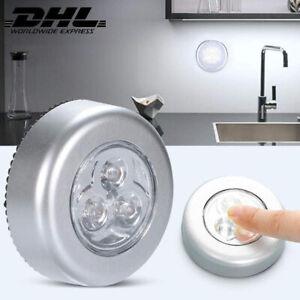 LED Vitrinenbeleuchtung UnterbauleuchtenWand Nachtlicht Schrank Leuchte Batterie