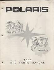 1985 POLARIS ATV TRAIL BOSS & SCRAMBLER P/N 9911098  PARTS MANUAL (910)