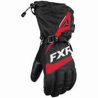 FXR Fuel Snowmobile Glove Black Red