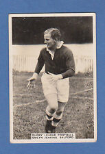 RUGBY - PATTREIOUEX - SCARCE RUGBY CARD -  EMLYN  JENKINS  OF  SALFORD  - 1935