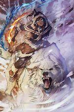 """Avatar Poster The Legend of Korra Anime Art Silk Wall Huge Posters 24x36"""" AVT28"""