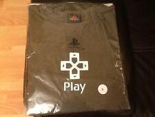 NEW OFFICIAL PROMO Sony Playstation T-Shirt  DARK GREEN SMALL . SONY PROMO RARE