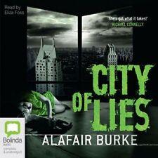 Alafair BURKE / CITY OF LIES [ Audiobook ]