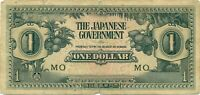 East ASIA 1$ Japanese occupation extremly fine 1942