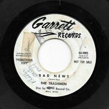 TRASHMEN * 45 * Bad News / On The Move * 1960's * DJ PROMO * Garrett 4005
