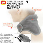 Calming Heat by Sharper Image Neck Wrap Massaging Weighted Neck Wrap