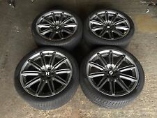 """20"""" GENUINE BENTLEY CONTINENTAL GT ALLOY WHEELS AND TYRE ALSO FIT FLYING SPUR"""