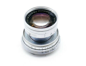 Leica Leitz 50 Summicron f2 collapsible lens