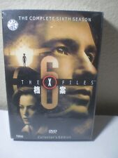 The X Files Complete Sixth Season Collector's Edition 8 DVD set Chinese? sealed
