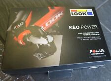 Look Keo Power dual-sided power meter pedals. Brand new.