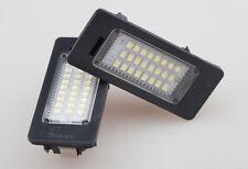 2 x No Error Code Car Plate lights 24 LED For BMW E90 M3 E92 E70 E39 F30 E93 E60