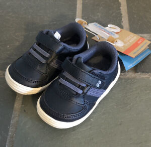 Toddler Boys Surprize by Stride Rite Alec Sneaker - Navy Size 3, Navy NEW