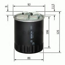 BOSCH ENGINE FUEL FILTER OE QUALITY REPLACEMENT 1457434437