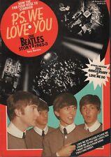 P.S. We Love you The Beatles Story 1962-3 Tony Barrow 1982 042018DBE