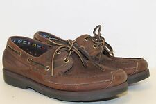 MENS TIMBERLAND CLASSIC 2 EYE BOAT SHOES 71024 BROWN 8.5 B