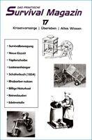 Survival Magazin 17 Fahrradanhänger Rezepte Vorschriften Krisenvorsorge Kollaps