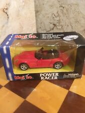Maisto Power Racer Motorized 1:24 Bmw Z8 Convertible Roadster New (other)