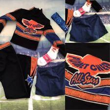 5pc Real Cheerleading Uniform Planet Cheer Comp